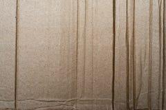 Texture de carton ondulé Photos libres de droits