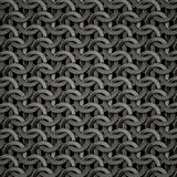 Texture de Chainmail Images stock