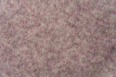 Texture de chandail tricoté par laine tissé rose Images libres de droits
