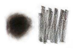 Texture de charbon de bois Photographie stock libre de droits