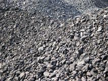 Texture de charbons Photos libres de droits