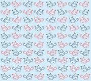 Texture de chat illustration stock