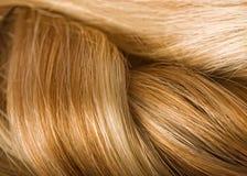 Texture de cheveux humains Image stock