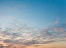 Texture de ciel photo stock