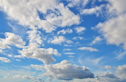 Texture de ciel Photographie stock