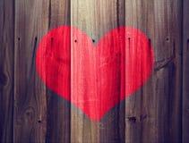 Texture de coeur Image libre de droits