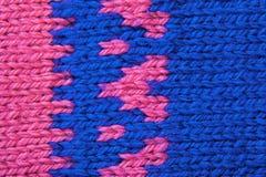 Texture de configuration de laines Images stock