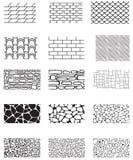 Texture de construction illustration libre de droits