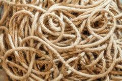 Texture de corde Photo libre de droits