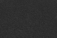 Texture de couleur noire de feuilles rugueuses matérielles Photographie stock libre de droits