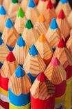 Texture de crayon Photos stock
