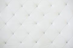 Texture de cuir blanc Photographie stock