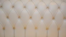 Texture de cuir blanc Image stock