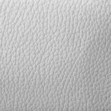 Texture de cuir blanc Photographie stock libre de droits