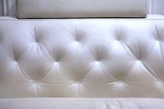 Texture de cuir blanc Photo libre de droits