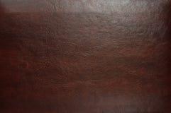 Texture de cuir de Brown Image libre de droits