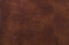 Texture de cuir de brun foncé Image libre de droits