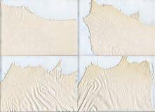 Texture de cuir de lumière de suède de bords en lambeaux Images stock