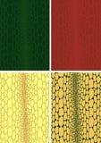 Texture de cuir de peau de crocodile Photographie stock libre de droits