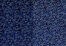 Texture de cuir perforé coloré Photos stock