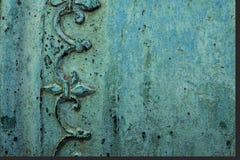 Texture de cuivre Images libres de droits