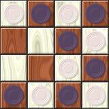 Texture de damier colorée par deux Photos stock