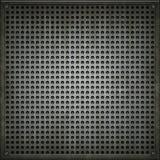 Texture de de plaque métallique. Image stock