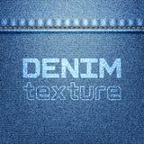 Texture de denim Photo stock