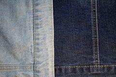 Texture de denim de tissu Image libre de droits