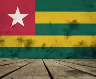 Texture de drapeau Togo illustration libre de droits