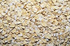 Texture de farine d'avoine Photographie stock