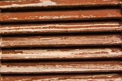 Texture de fenêtre en bois dans la couleur brune Photo libre de droits