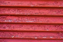 Texture de fenêtre en bois dans la couleur rouge Images stock