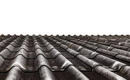 Texture de feuille de toit de ciment de fibre Image libre de droits