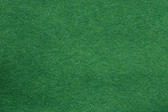 Texture de feutre de vert Image libre de droits