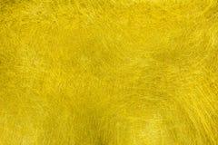 Texture de fibre d'or photo libre de droits