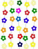 Texture de fleurs illustration stock