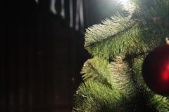 Texture de fond de carte de décoration de bonne année et de Joyeux Noël image libre de droits