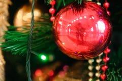 Texture de fond de carte de décoration de bonne année et de Joyeux Noël photo libre de droits