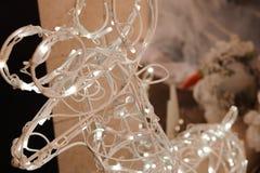 Texture de fond de carte de décoration de bonne année et de Joyeux Noël photos libres de droits