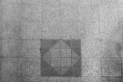 Texture de fond d'au sol carrelé gris de ville de trottoir Images libres de droits