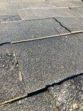 Texture de fond d'au sol carrelé gris de ville de trottoir image libre de droits