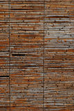 Texture de fond d'un écran en bambou rustique Photos libres de droits