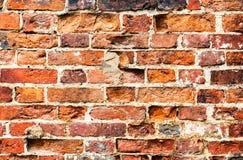 Texture de fond d'un vieux mur avec des briques Photographie stock