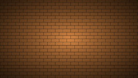 Texture de fond de brickwall de mouvement de longueur animation 4K illustration de vecteur