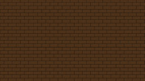 Texture de fond de brickwall de mouvement de longueur animation 4K illustration stock