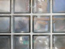 Texture de fond de brique en verre image libre de droits
