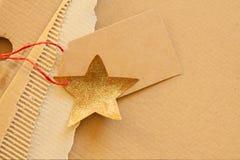Texture de fond de carton ondulé Image stock