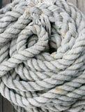 Texture de fond de corde enroulée Image stock