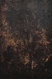 Texture de fond de cuir de brun foncé. image libre de droits
